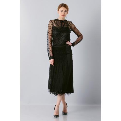 Vendita Abbigliamento Usato FIrmato - Camicia plumetis - Rochas - Drexcode -8