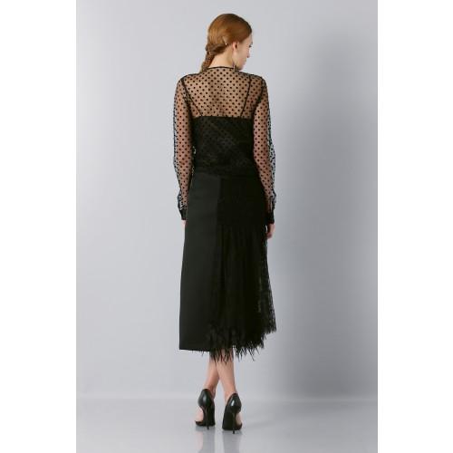 Vendita Abbigliamento Usato FIrmato - Camicia plumetis - Rochas - Drexcode -7