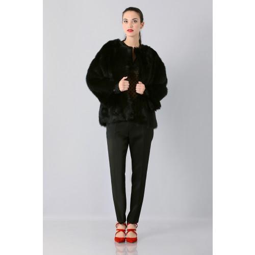 Vendita Abbigliamento Usato FIrmato - Camicia plumetis - Rochas - Drexcode -6