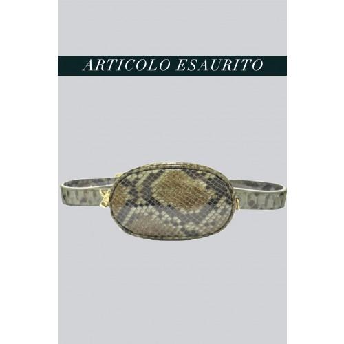 Vendita Abbigliamento Usato FIrmato - Marsupio clutch pitonato verde - AM - Drexcode -2