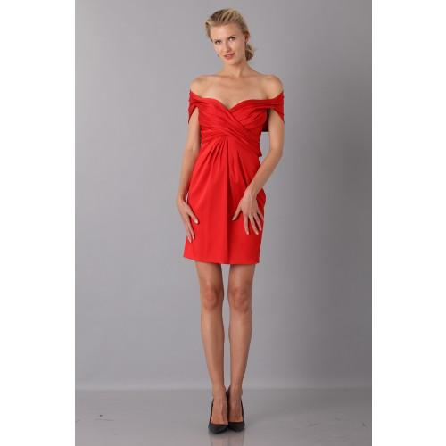 Vendita Abbigliamento Usato FIrmato - Mini abito in satin - Moschino - Drexcode -3