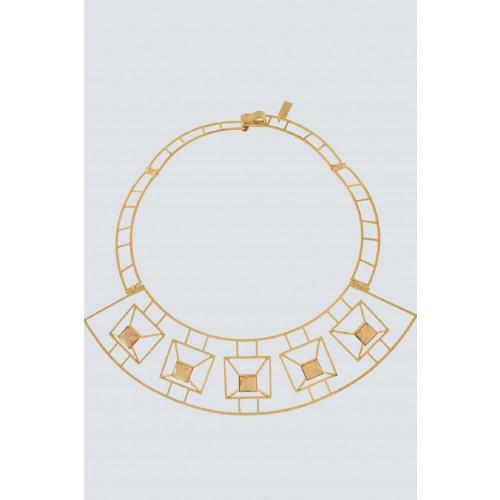 Vendita Abbigliamento Usato FIrmato - Collana geometrica chiara - Natama - Drexcode -1