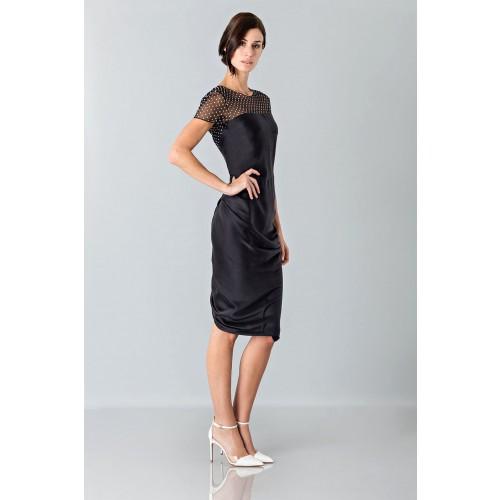 Vendita Abbigliamento Usato FIrmato - Abito plumetis e micro-pois - Blumarine - Drexcode -2
