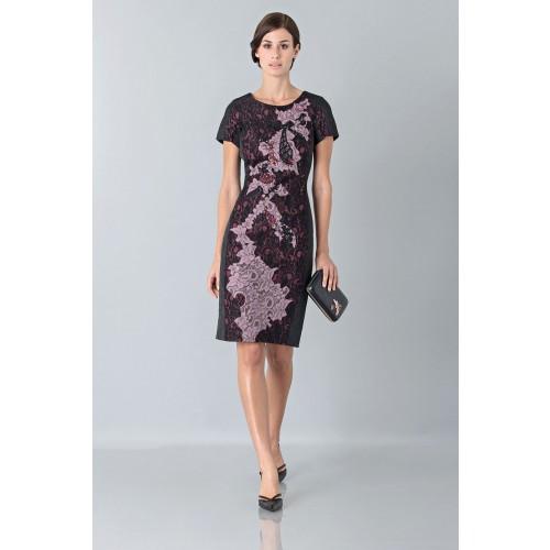 Vendita Abbigliamento Usato FIrmato - Abito con ricamo floreale - Antonio Marras - Drexcode -8