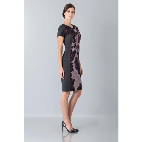 Vendita Abbigliamento Usato FIrmato - Abito con ricamo floreale - Antonio Marras - Drexcode -9