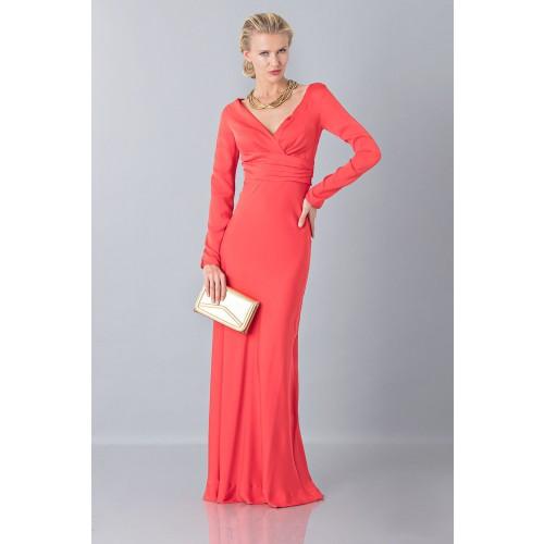 Vendita Abbigliamento Usato FIrmato - Abito lungo con scollo profondo - Vionnet - Drexcode -3