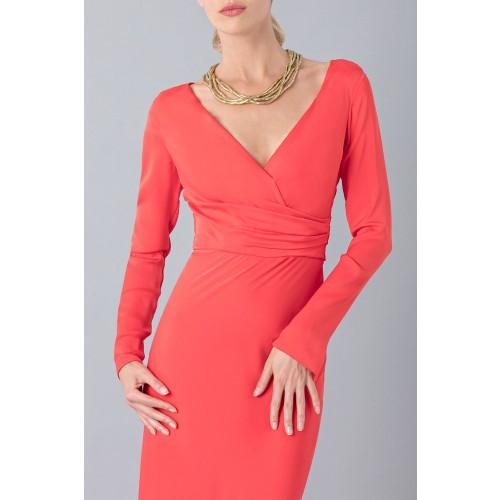 Vendita Abbigliamento Usato FIrmato - Abito lungo con scollo profondo - Vionnet - Drexcode -5