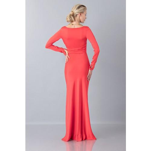 Vendita Abbigliamento Usato FIrmato - Abito lungo con scollo profondo - Vionnet - Drexcode -4