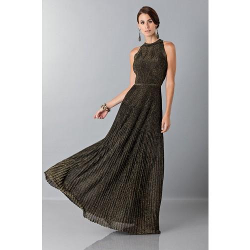 Vendita Abbigliamento Usato FIrmato - Abito con trame oro - Vionnet - Drexcode -3