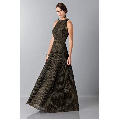 Vendita Abbigliamento Usato FIrmato - Abito con trame oro - Vionnet - Drexcode -5