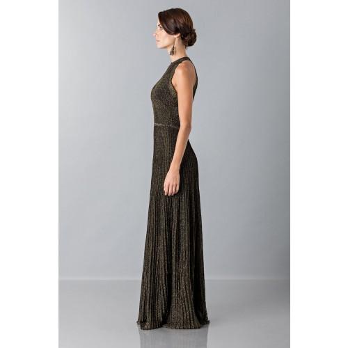 Vendita Abbigliamento Usato FIrmato - Abito con trame oro - Vionnet - Drexcode -7