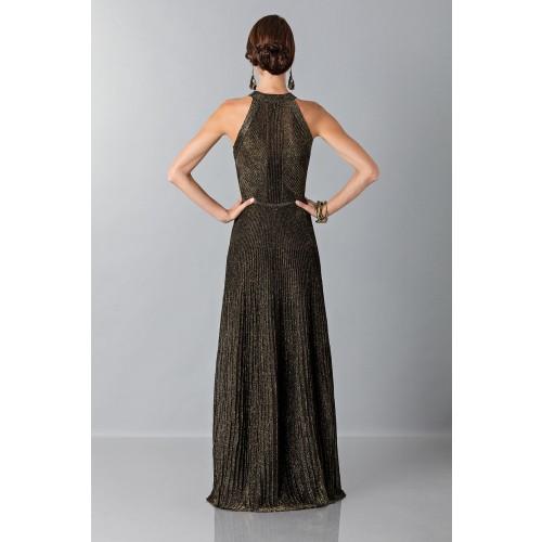 Vendita Abbigliamento Usato FIrmato - Abito con trame oro - Vionnet - Drexcode -1
