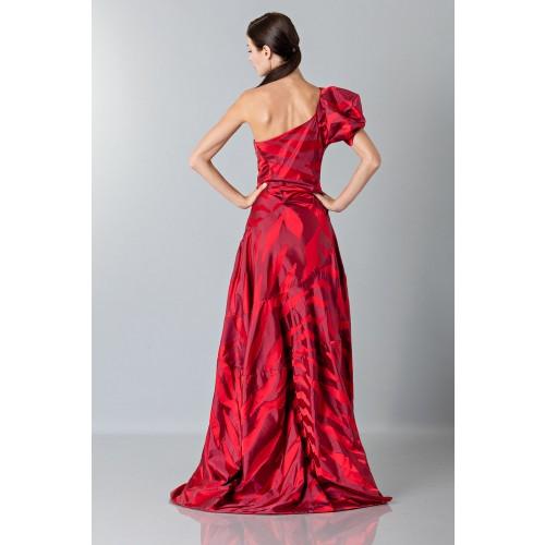 Vendita Abbigliamento Usato FIrmato - Abito rosso monospalla con manica a sbuffo - Vivienne Westwood - Drexcode -6
