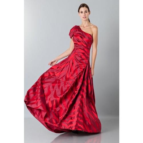 Vendita Abbigliamento Usato FIrmato - Abito rosso monospalla con manica a sbuffo - Vivienne Westwood - Drexcode -3