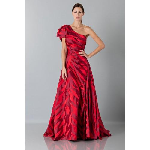 Vendita Abbigliamento Usato FIrmato - Abito rosso monospalla con manica a sbuffo - Vivienne Westwood - Drexcode -2