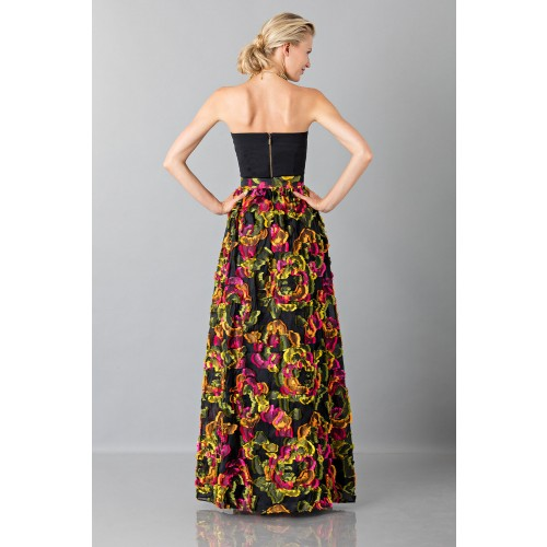 Vendita Abbigliamento Usato FIrmato - Gonna con applicazioni floreali - Blumarine - Drexcode -3