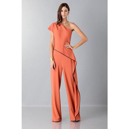 Vendita Abbigliamento Usato FIrmato - Jumpsuit con drappeggio laterale - Vionnet - Drexcode -1