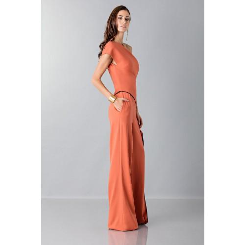 Vendita Abbigliamento Usato FIrmato - Jumpsuit con drappeggio laterale - Vionnet - Drexcode -4