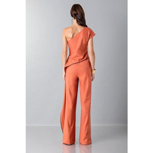 Vendita Abbigliamento Usato FIrmato - Jumpsuit con drappeggio laterale - Vionnet - Drexcode -2