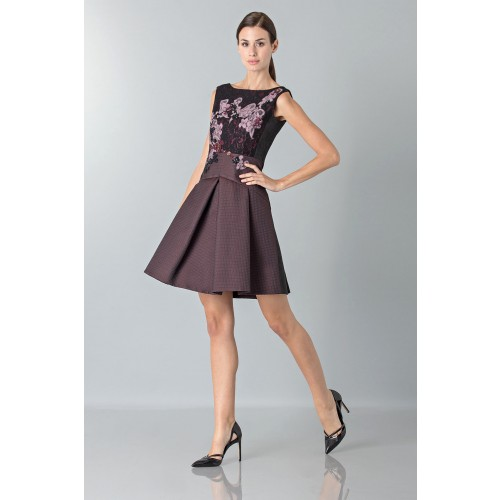 Vendita Abbigliamento Usato FIrmato - Mini abito con ricamo floreale - Antonio Marras - Drexcode -8