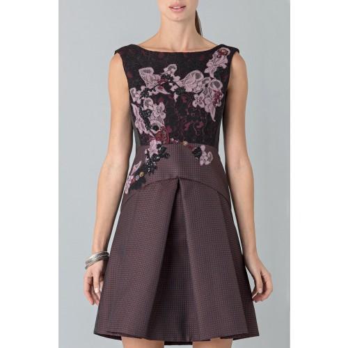 Vendita Abbigliamento Usato FIrmato - Mini abito con ricamo floreale - Antonio Marras - Drexcode -7
