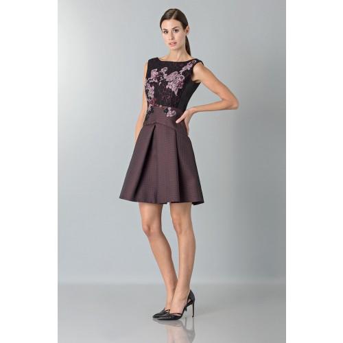 Vendita Abbigliamento Usato FIrmato - Mini abito con ricamo floreale - Antonio Marras - Drexcode -4