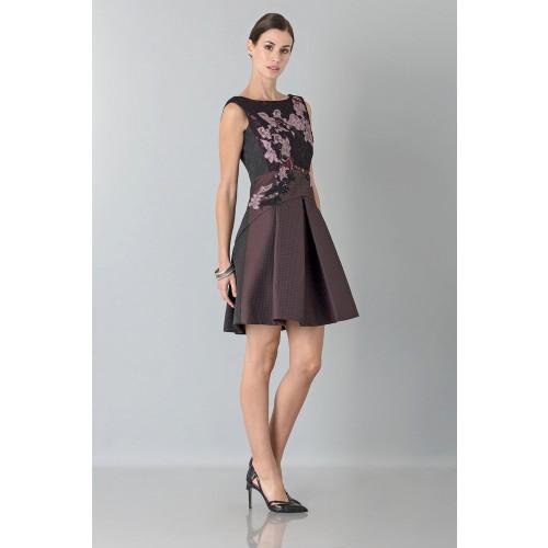 Vendita Abbigliamento Usato FIrmato - Mini abito con ricamo floreale - Antonio Marras - Drexcode -6