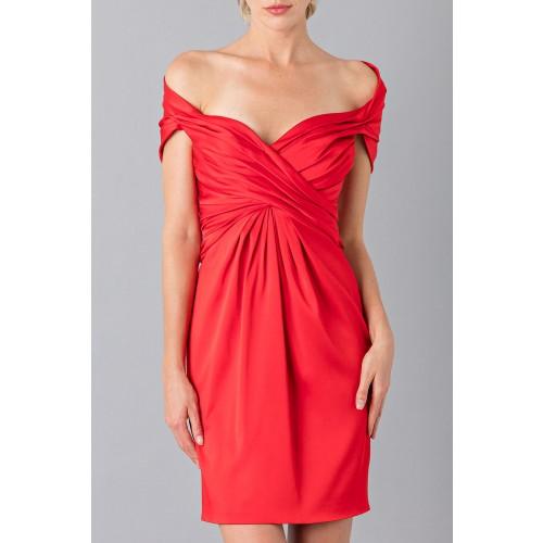 Vendita Abbigliamento Usato FIrmato - Mini abito in satin - Moschino - Drexcode -9