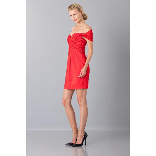 Vendita Abbigliamento Usato FIrmato - Mini abito in satin - Moschino - Drexcode -4