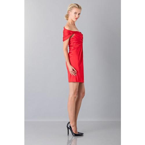 Vendita Abbigliamento Usato FIrmato - Mini abito in satin - Moschino - Drexcode -8