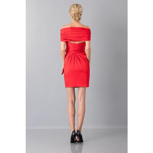 Vendita Abbigliamento Usato FIrmato - Mini abito in satin - Moschino - Drexcode -10