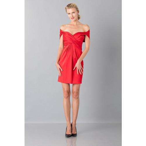 Vendita Abbigliamento Usato FIrmato - Mini abito in satin - Moschino - Drexcode -7