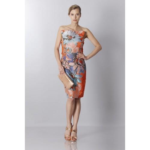 Vendita Abbigliamento Usato FIrmato - Bustier in jacquard floreale - Antonio Berardi - Drexcode -5