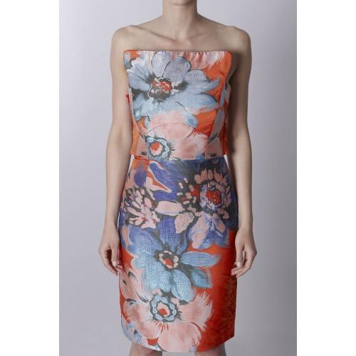 Vendita Abbigliamento Usato FIrmato - Bustier in jacquard floreale - Antonio Berardi - Drexcode -2
