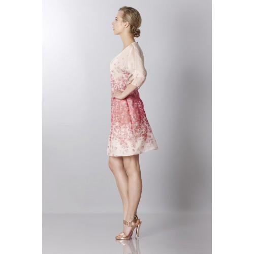 Vendita Abbigliamento Usato FIrmato - Abito in organza di seta con stampa floreale - Blumarine - Drexcode -3