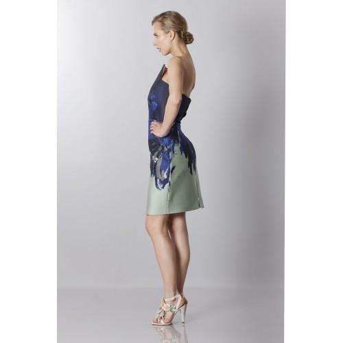 Vendita Abbigliamento Usato FIrmato - Bustier asimmetrico con stampa floreale - Antonio Berardi - Drexcode -4