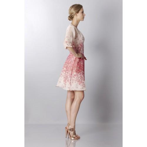 Vendita Abbigliamento Usato FIrmato - Abito in organza di seta con stampa floreale - Blumarine - Drexcode -7