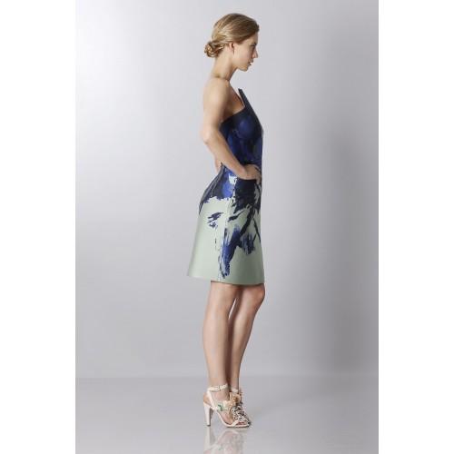 Vendita Abbigliamento Usato FIrmato - Bustier asimmetrico con stampa floreale - Antonio Berardi - Drexcode -2