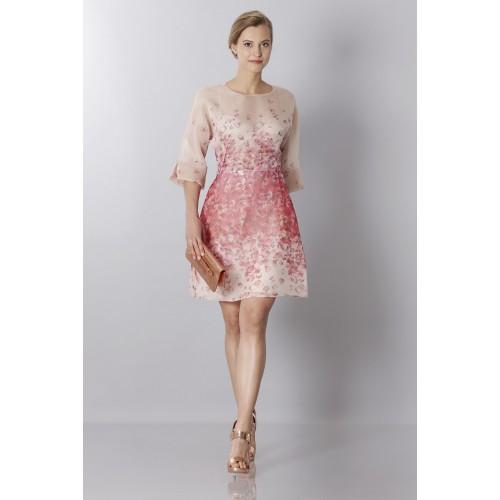 Vendita Abbigliamento Usato FIrmato - Abito in organza di seta con stampa floreale - Blumarine - Drexcode -2