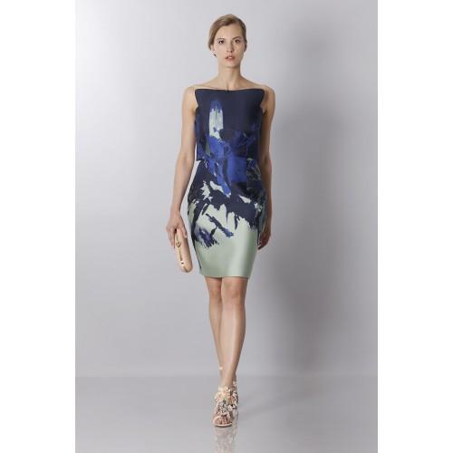 Vendita Abbigliamento Usato FIrmato - Bustier asimmetrico con stampa floreale - Antonio Berardi - Drexcode -3