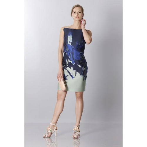 Vendita Abbigliamento Usato FIrmato - Bustier asimmetrico con stampa floreale - Antonio Berardi - Drexcode -6