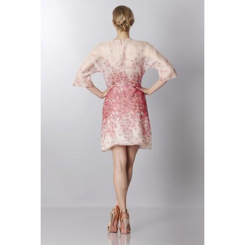 Vendita Abbigliamento Usato FIrmato - Abito in organza di seta con stampa floreale - Blumarine - Drexcode -4