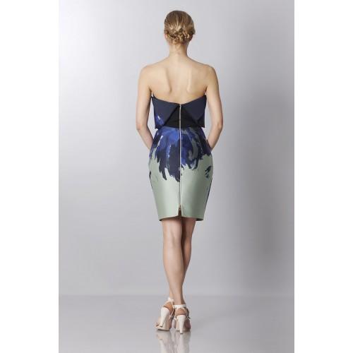 Vendita Abbigliamento Usato FIrmato - Bustier asimmetrico con stampa floreale - Antonio Berardi - Drexcode -7