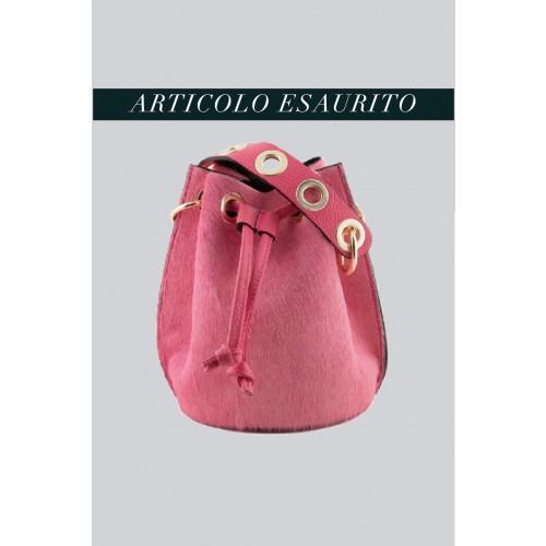 Vendita Abbigliamento Usato FIrmato - Mini secchiello in cavallino rosa - AM - Drexcode -2