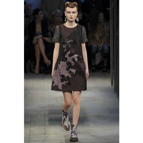 Vendita Abbigliamento Usato FIrmato - Abito con ricamo floreale - Antonio Marras - Drexcode -4