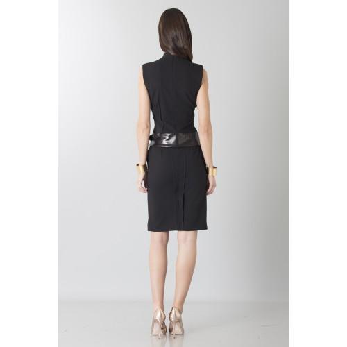 Vendita Abbigliamento Usato FIrmato - Tubino con dettagli in pelle - Jean Paul Gaultier - Drexcode -9