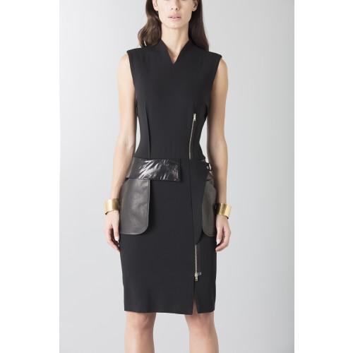 Vendita Abbigliamento Usato FIrmato - Tubino con dettagli in pelle - Jean Paul Gaultier - Drexcode -7