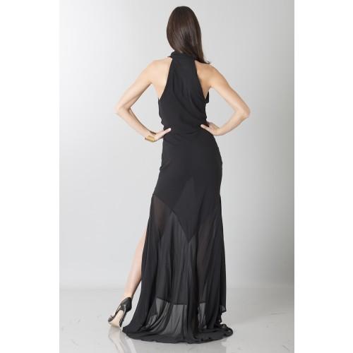 Vendita Abbigliamento Usato FIrmato - Abito nero con trasparenze - Vivienne Westwood - Drexcode -8