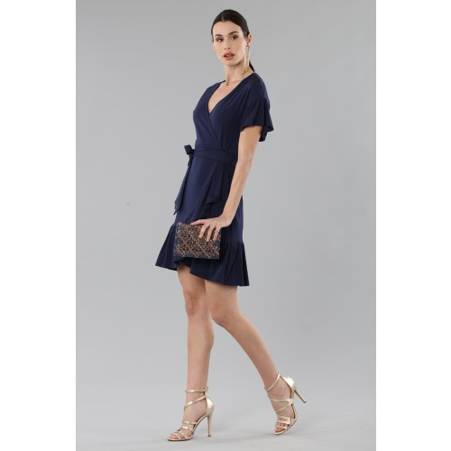 Vendita Abbigliamento Usato FIrmato - Mini wrap con volant - MICHAEL - Michael Kors - Drexcode -3