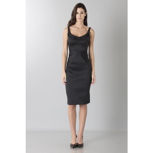 Vendita Abbigliamento Usato FIrmato - Tubino in stretch satin - Zac Posen - Drexcode -6